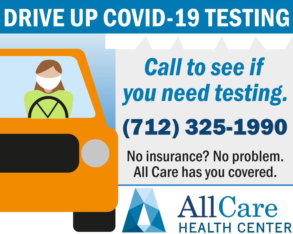 Drive Up COVID-19 Testing Available. Call For Details.