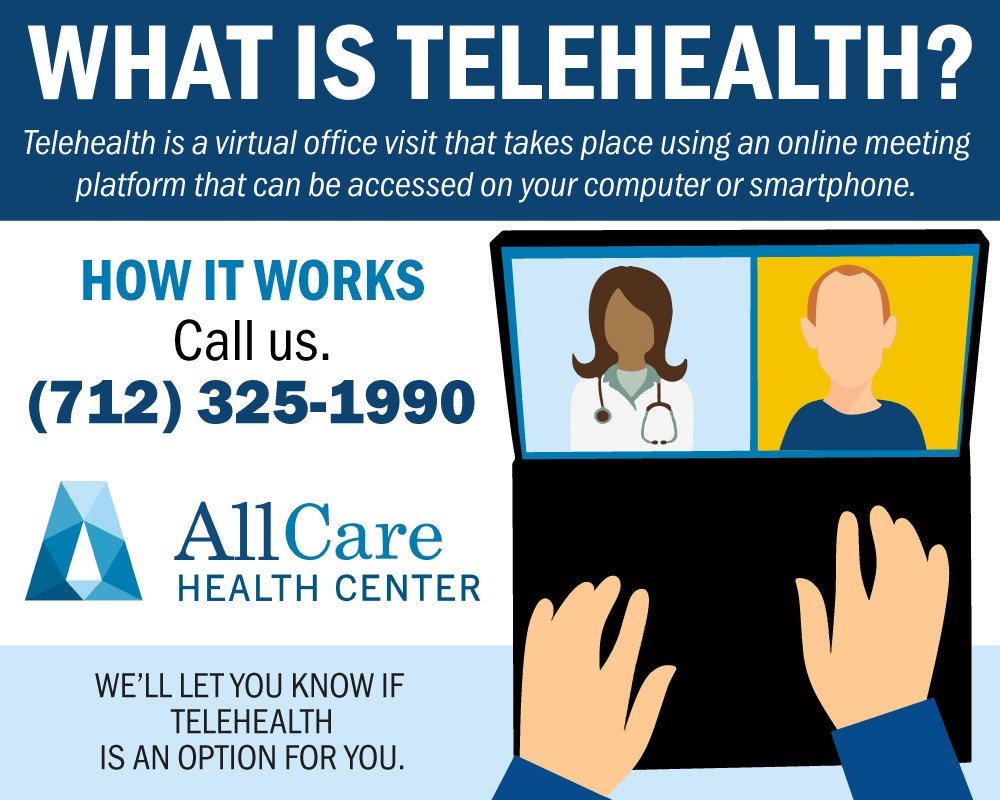 Telehealth Is A Virtual Office Visit That Can Be Accessed On Your Computer Or Smartphone.